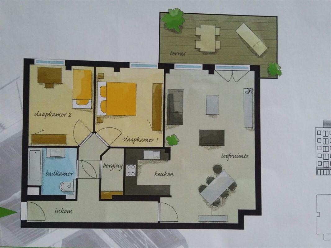 Foto 8 : Appartement te 3800 Sint-Truiden (België) - Prijs € 675