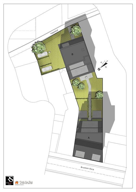 Foto 7 : Appartement te 3800 BRUSTEM (België) - Prijs € 288.000