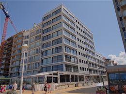 Res. Sun Beach II  0801 - Lichtrijk appartement met 2 slaapkamers en zijdelings zeezicht - Gelegen op de 8ste verdieping in de Henegouwenstraat te Nie...