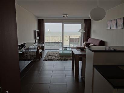 Res. Seahorse - A2 - Nieuwbouwappartement met 2 slaapkamers - 65m² + 5m² terras. Gelegen op de eerste verdieping op de autovrije zeedijk van Nieuwp...
