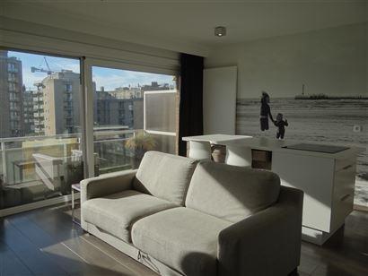 Res. Den Oever VI 0404 - Grand studio avec coin à dormir - Hall d'entrée avec coin à dormir - Salle de douche avec w.c. et lavabo - Séjour lumineu...
