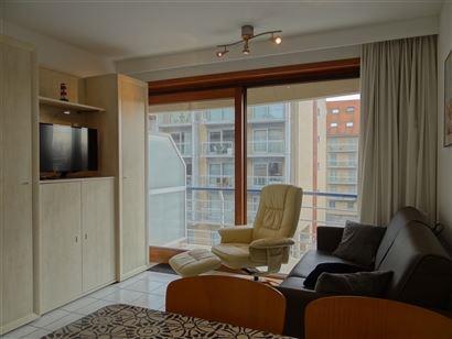 Res. Ensor 49/0202 - Studio ensoleillé avec coin à dormir - Résidence récente - Situé au deuxième étage dans la Franslaan renouvelée - Entrée...