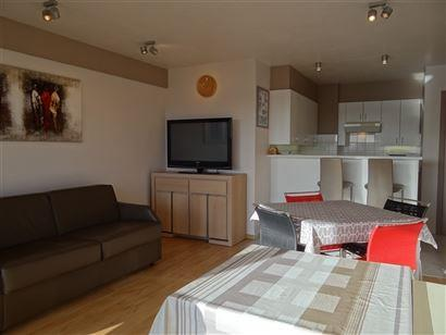Res. Panorama A  0205 - Appartement ensoleillé avec chambre à coucher - Situé au 1er étage dans l'Elisalaan - Séjour avec cuisine ouverte - Terra...