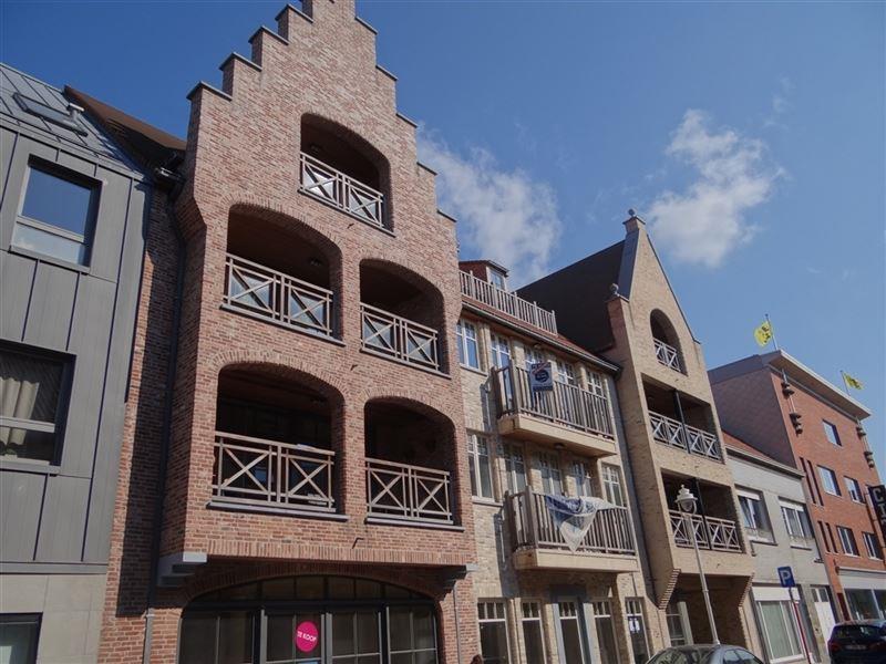 Appartements en nouvelle construction avec 1 ou 2 chambres à coucher, au centre de Nieuport-Ville. Situation résidentielle. Trois derniers apparteme ...